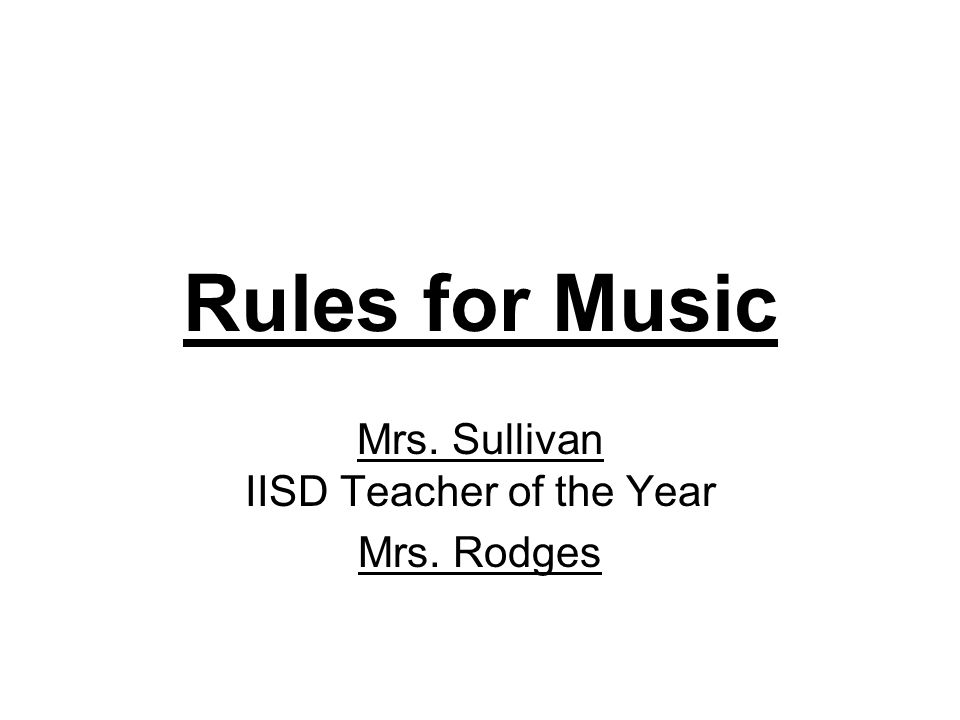 Mrs. Sullivan IISD Teacher of the Year Mrs. Rodges