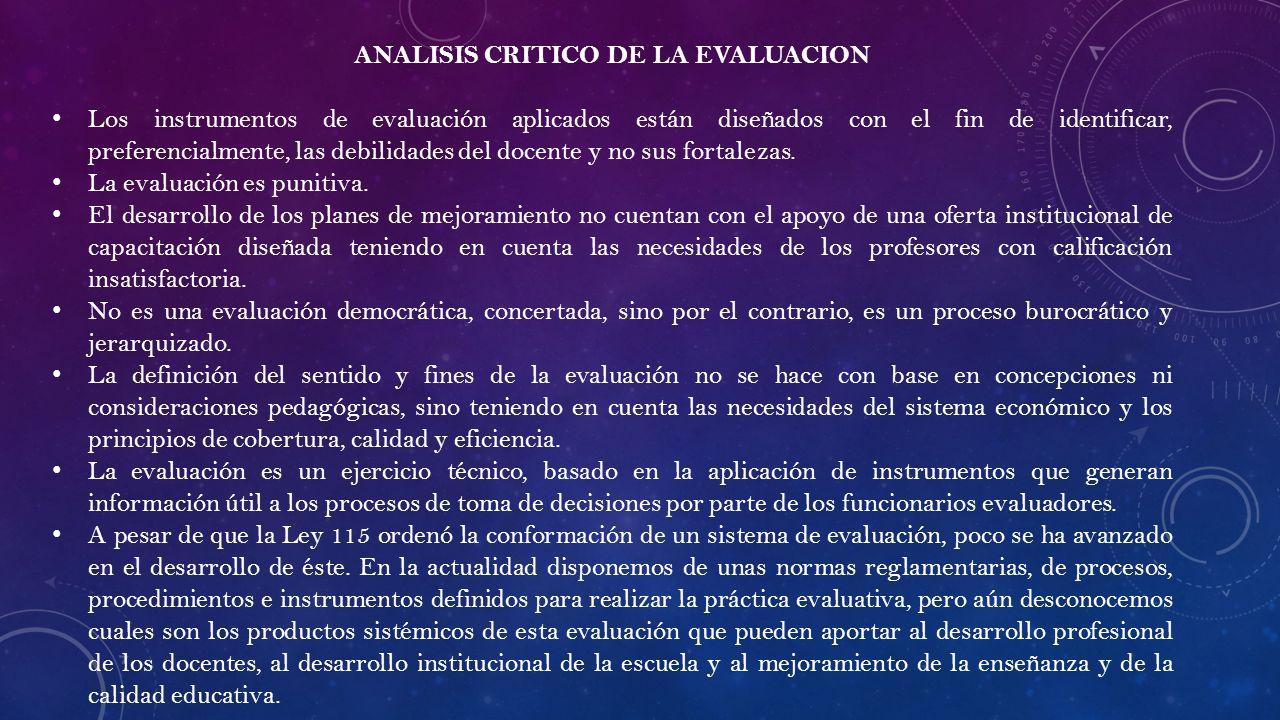 Evaluacion de desempe o docente ppt descargar for Funcionarios docentes en el exterior