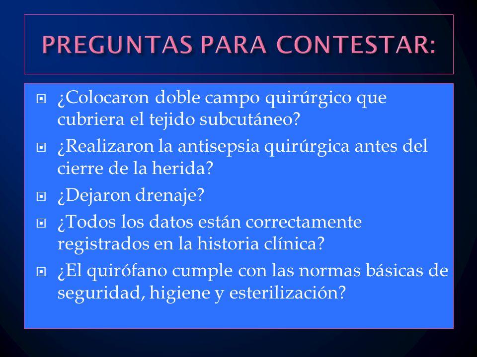 PREGUNTAS PARA CONTESTAR: