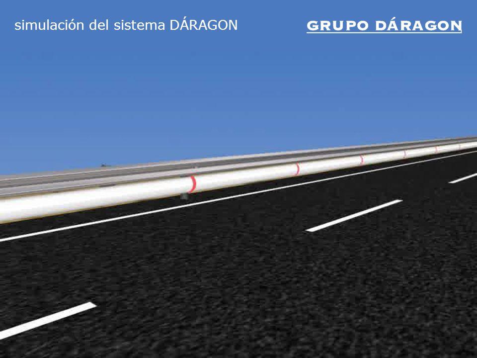 simulación del sistema DÁRAGON