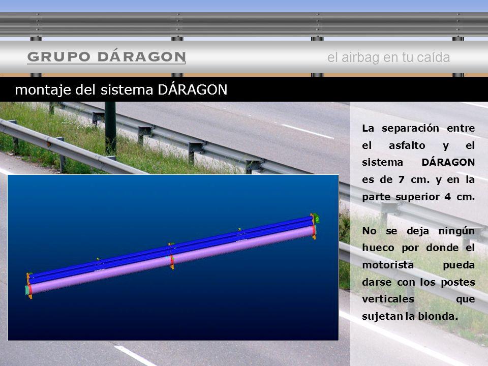 montaje del sistema DÁRAGON