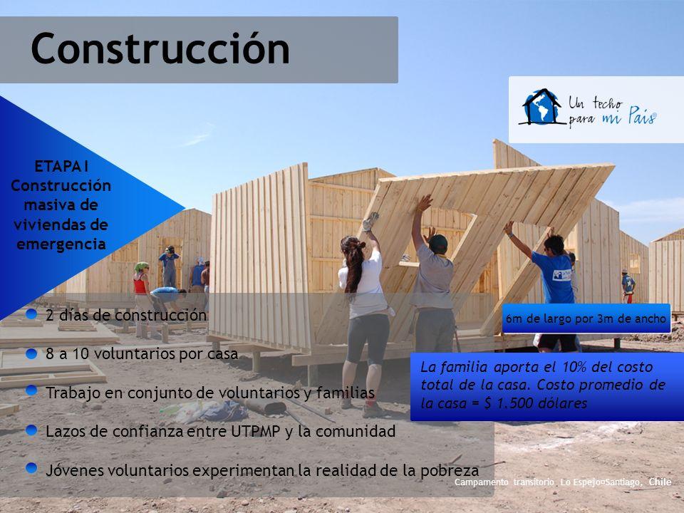Construcción masiva de viviendas de emergencia