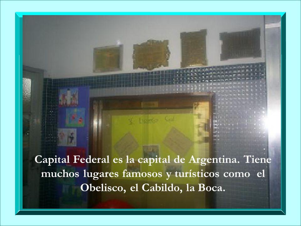 Capital Federal es la capital de Argentina
