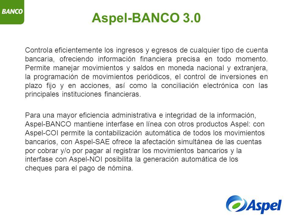 Aspel-BANCO 3.0