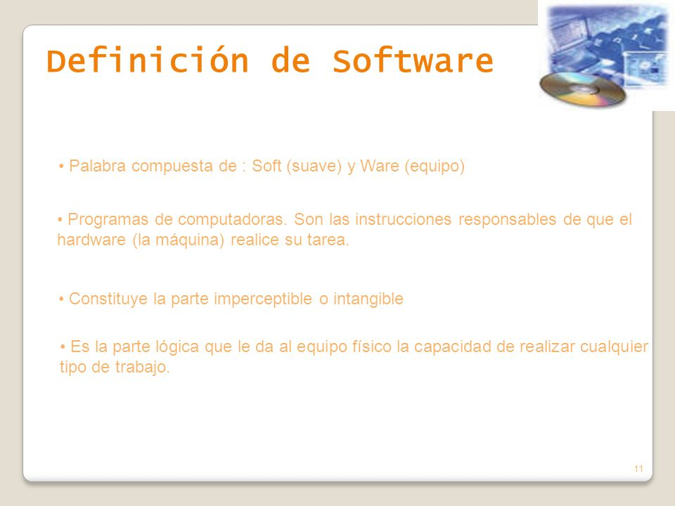 Definición de Software