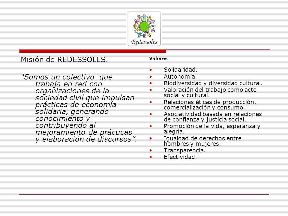 Misión de REDESSOLES.