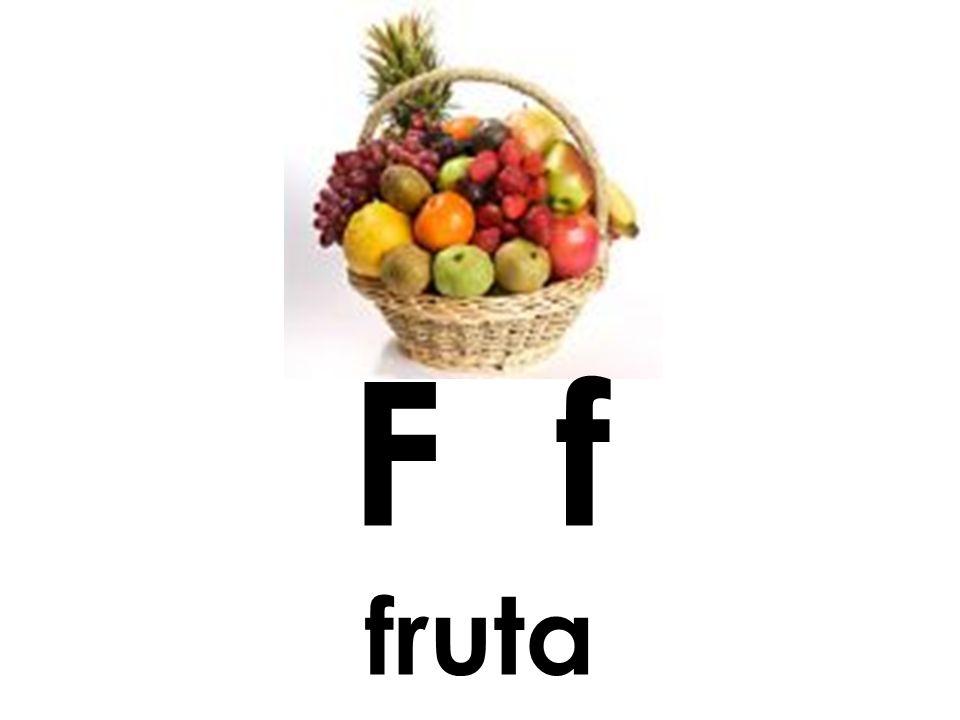 F f fruta