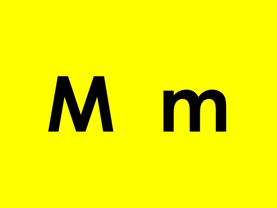 o M m