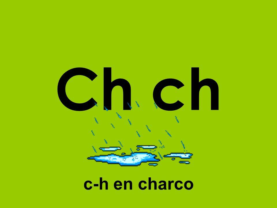Ch ch c-h en charco