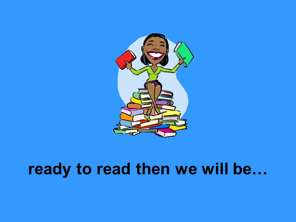 ready to read then we will be…