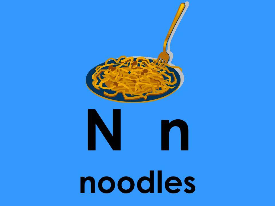N n noodles