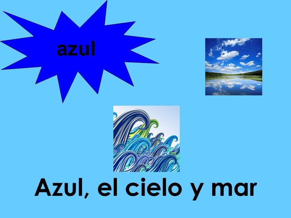 azul Azul, el cielo y mar