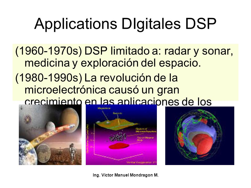 Applications DIgitales DSP
