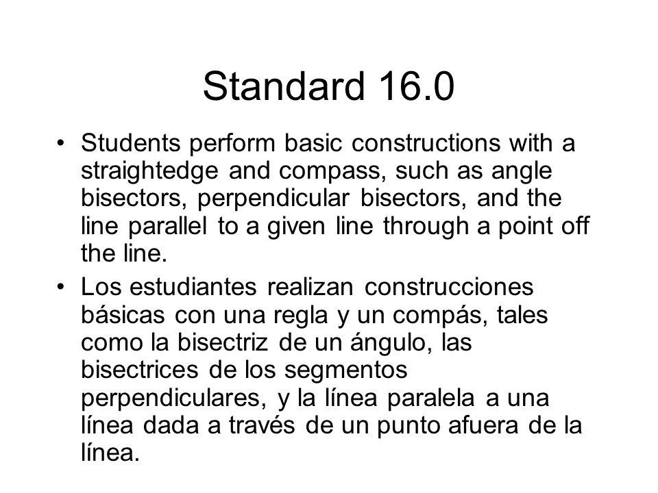 Standard 16.0