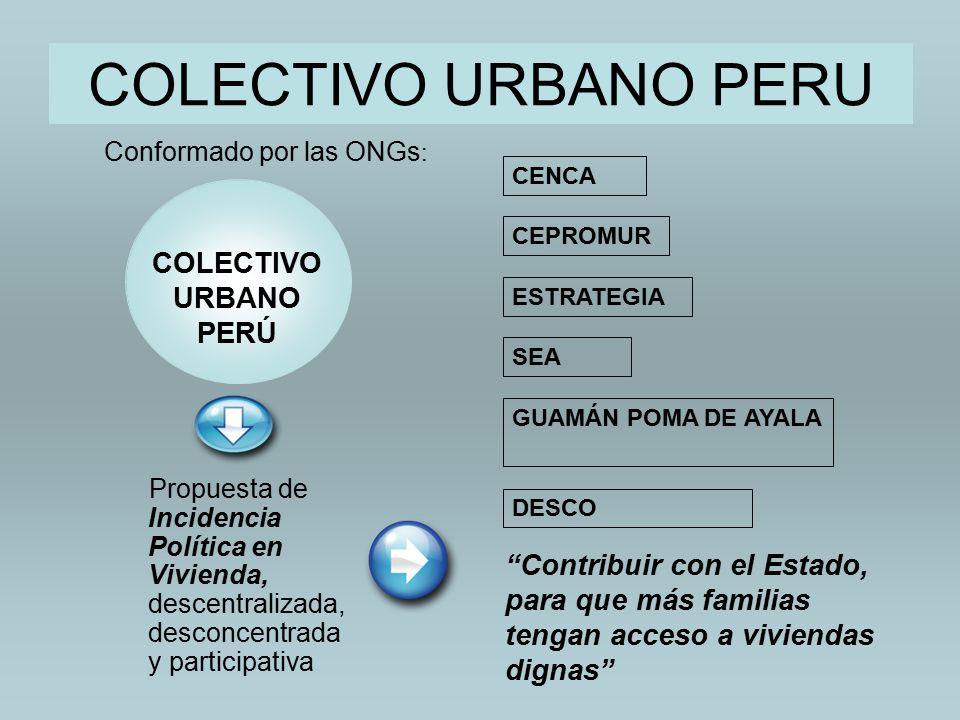 COLECTIVO URBANO PERU COLECTIVO URBANO PERÚ
