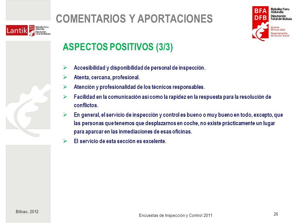 COMENTARIOS Y APORTACIONES