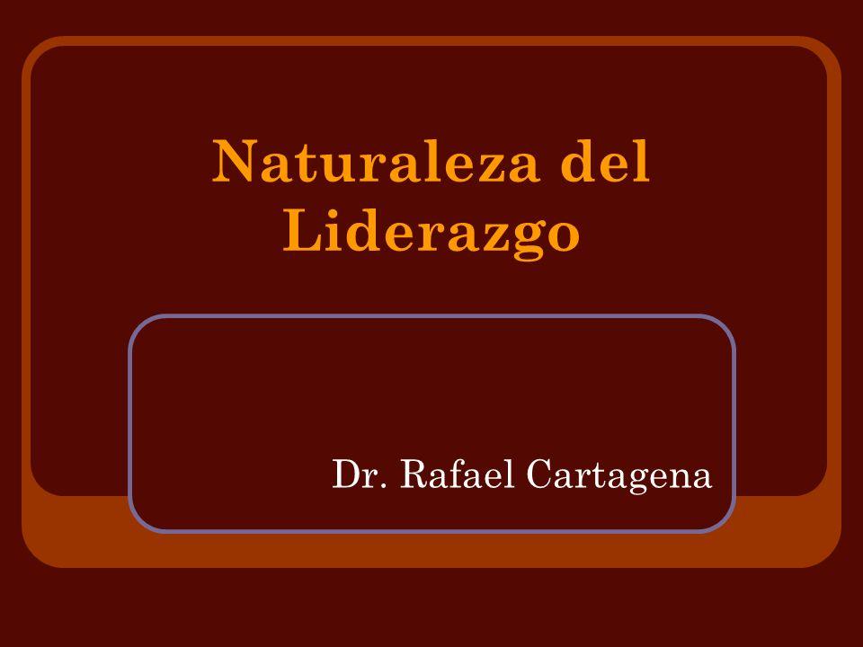 Naturaleza del Liderazgo
