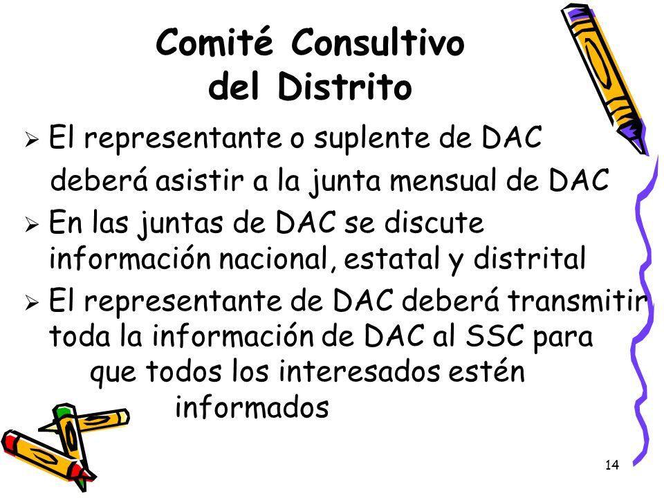 Comité Consultivo del Distrito