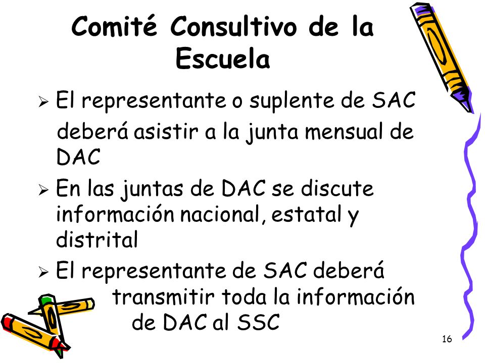 Comité Consultivo de la Escuela