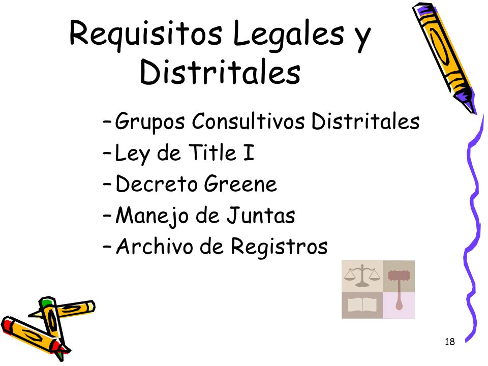 Requisitos Legales y Distritales