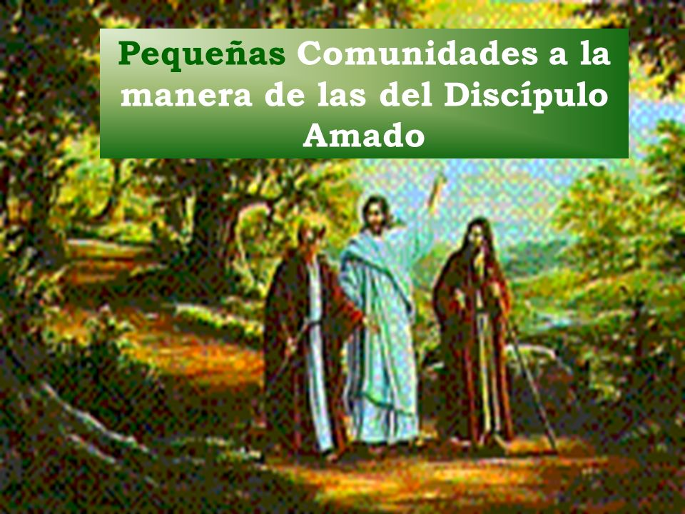 Pequeñas Comunidades a la manera de las del Discípulo Amado