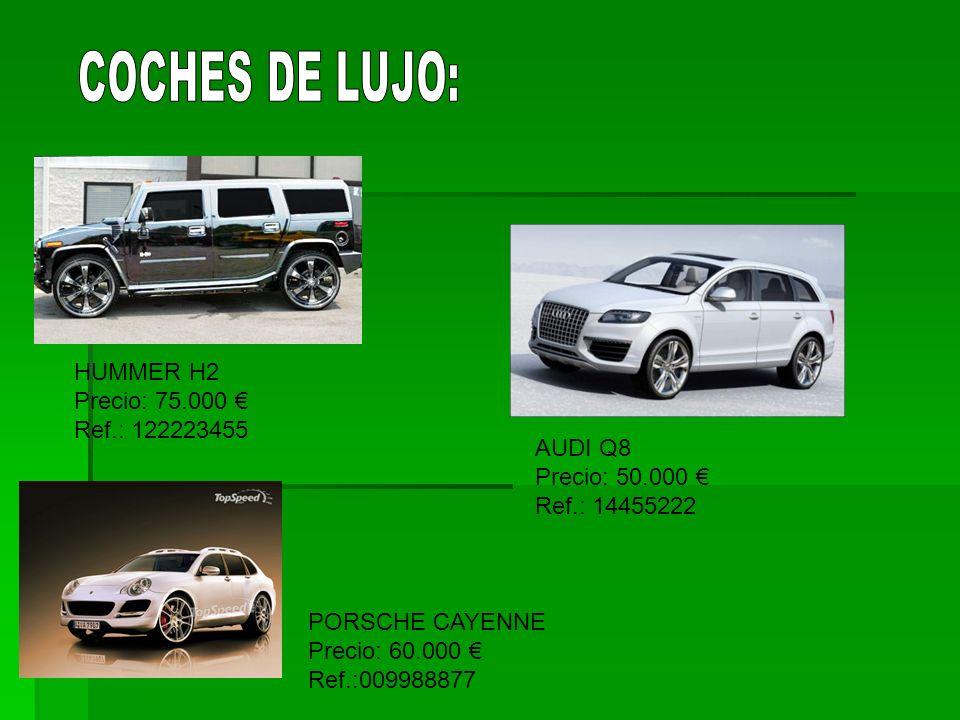 COCHES DE LUJO: HUMMER H2 Precio: 75.000 € Ref.: 122223455 AUDI Q8