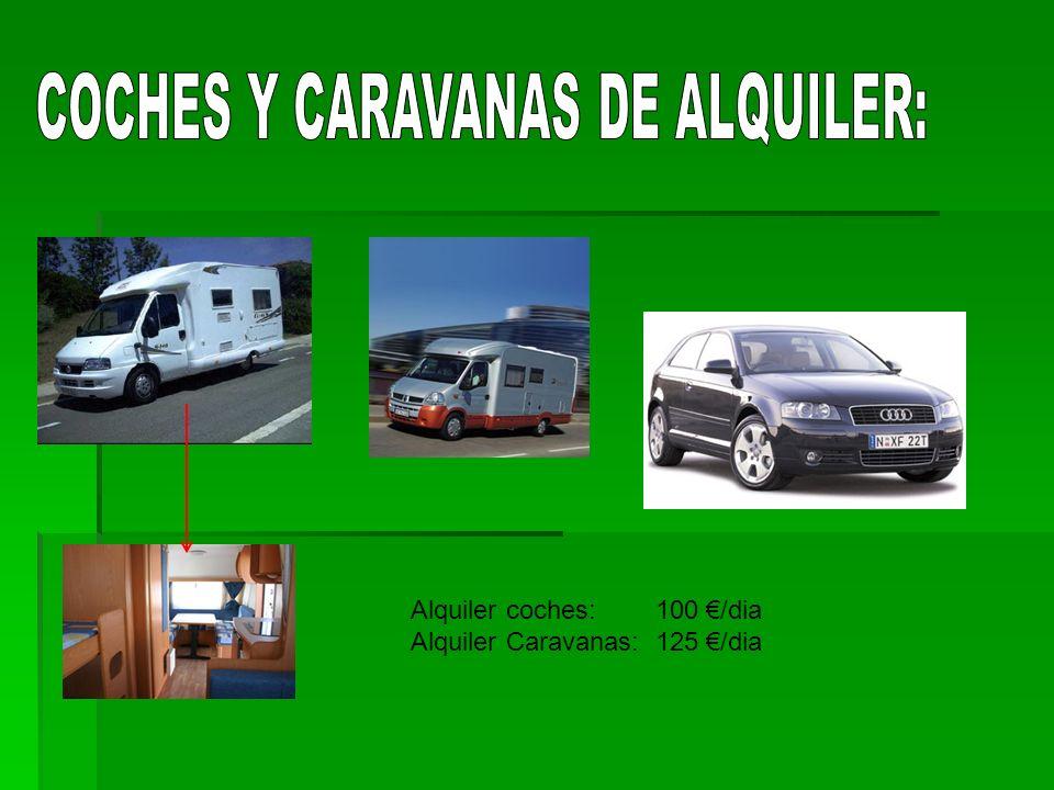 COCHES Y CARAVANAS DE ALQUILER: