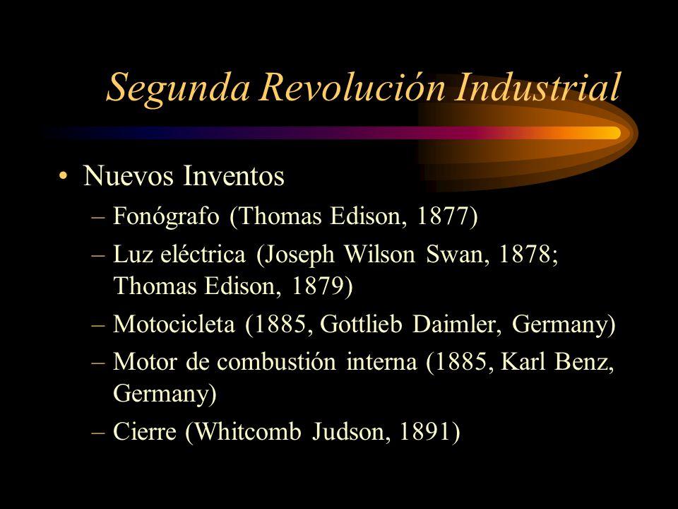 Impacto De La Revoluci N Industrial Ppt Descargar
