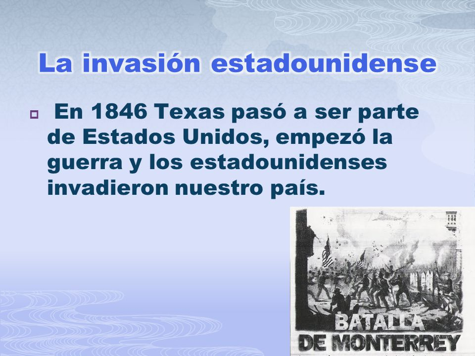 La invasión estadounidense