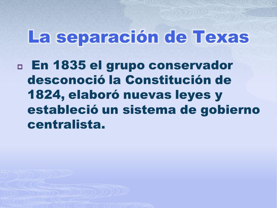 La separación de Texas