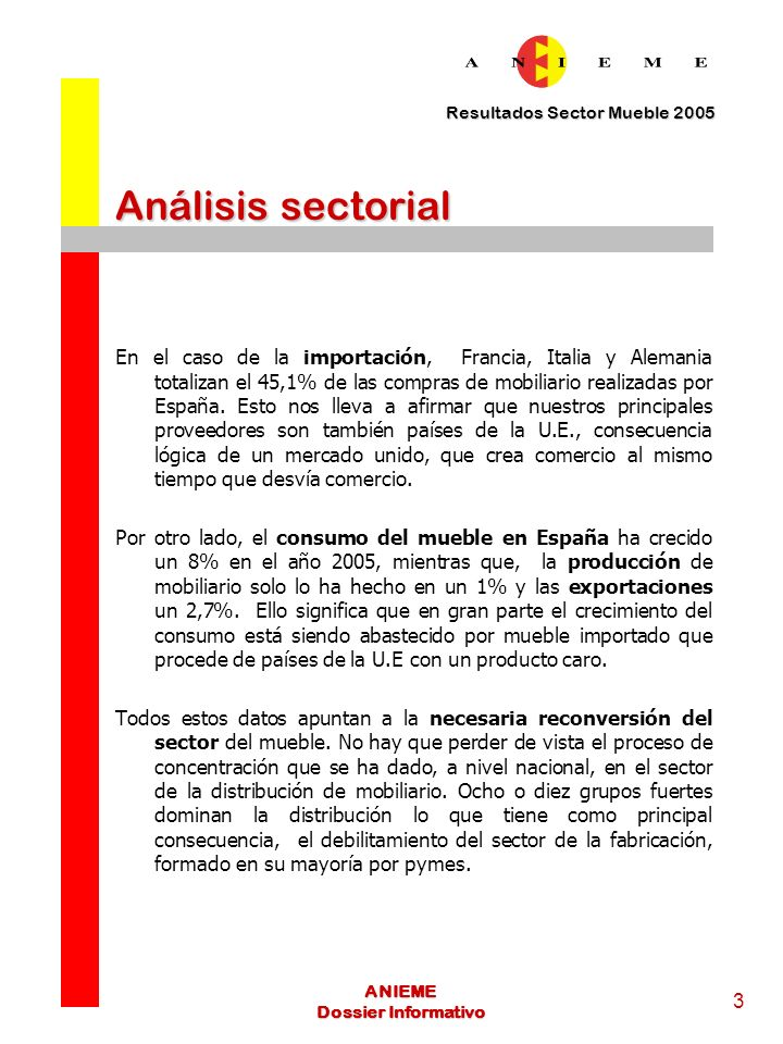 Análisis sectorial