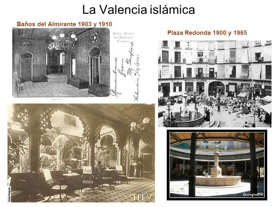 Evoluci n hist rica de la ciudad de valencia ppt video online descargar - Banos del almirante valencia ...