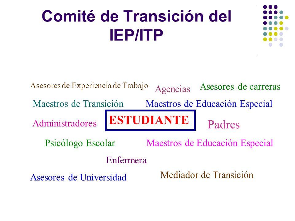 Comité de Transición del IEP/ITP