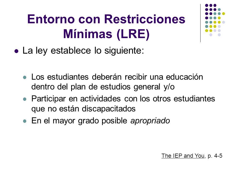 Entorno con Restricciones Mínimas (LRE)