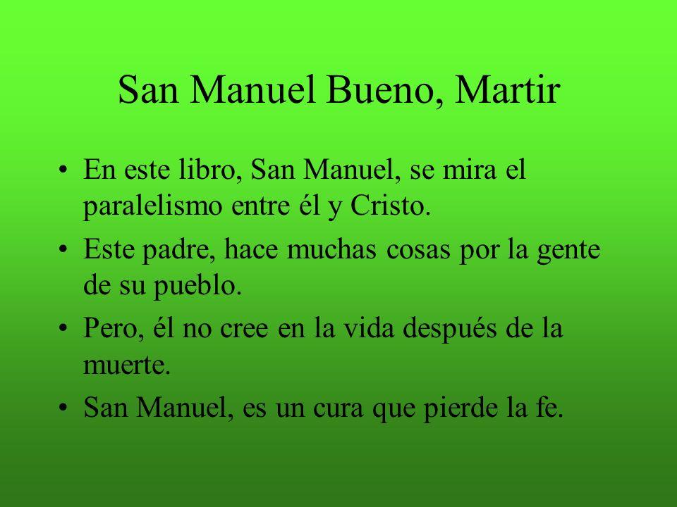 Miguel De Unamuno San Manuel Bueno Martir Descargar Libro Free Download