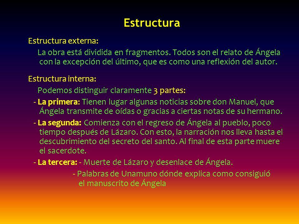 Estructura Estructura externa: