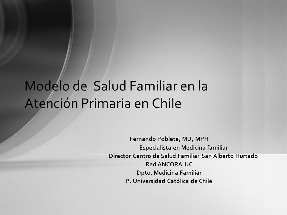 Modelo de Salud Familiar en la Atención Primaria en Chile