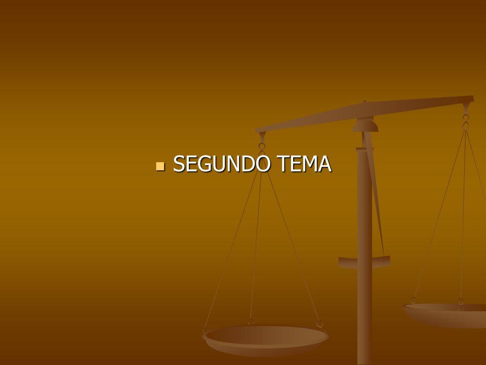 SEGUNDO TEMA