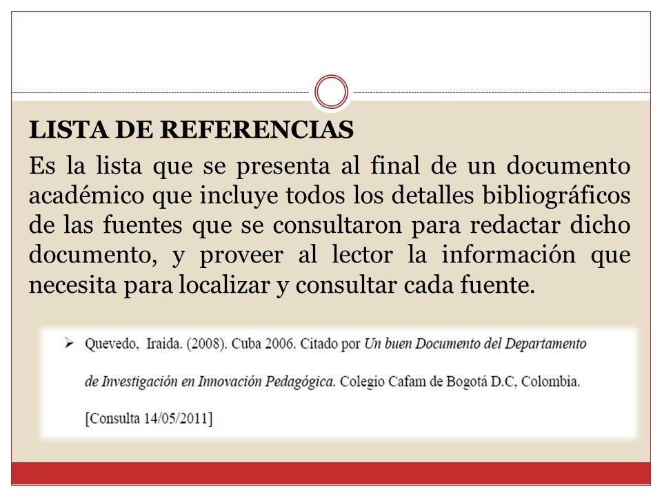 NORMAS DE PUBLICACIÓN APA - ppt descargar