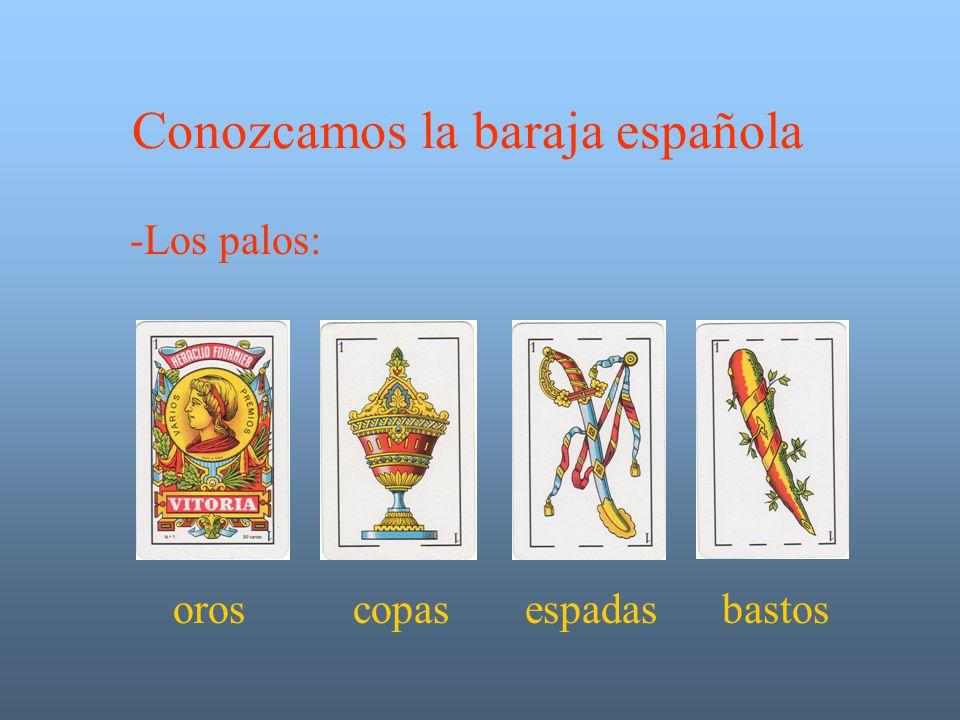 Conozcamos la baraja española