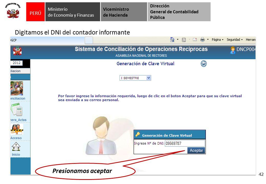 Per ministerio de econom a y finanzas viceministro de for Oficina virtual ministerio de hacienda