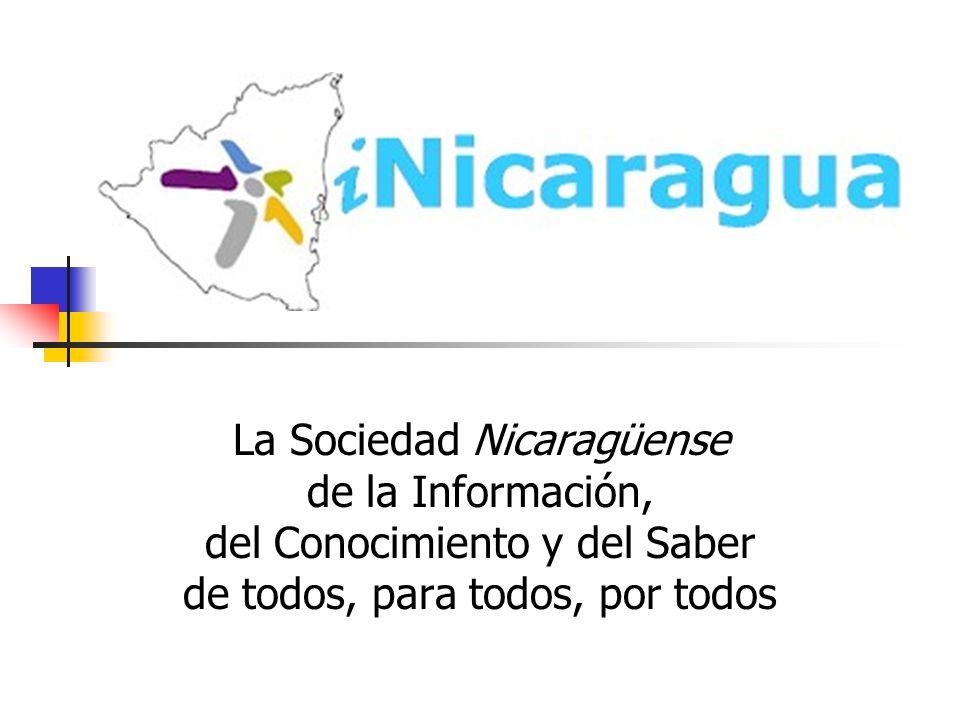 La Sociedad Nicaragüense de la Información,