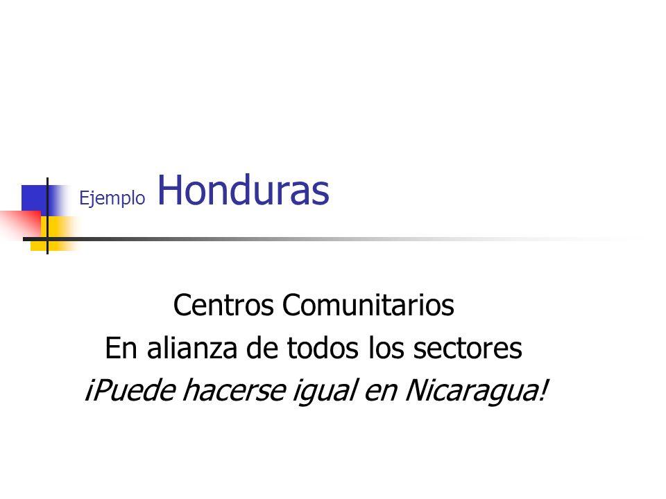 En alianza de todos los sectores ¡Puede hacerse igual en Nicaragua!