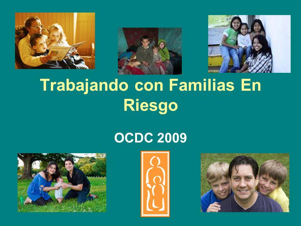 Trabajando con Familias En Riesgo