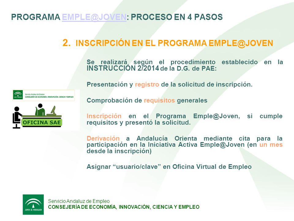 Decreto ley 6 2014 de 29 de abril ppt descargar for Oficina virtual de empleo sellar