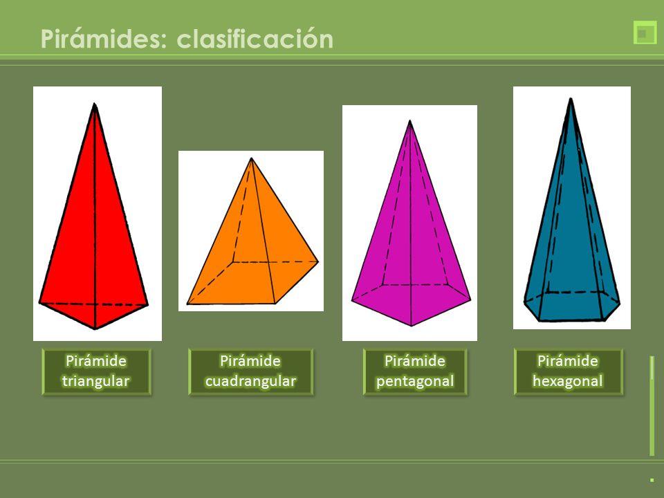 Pirámides: clasificación