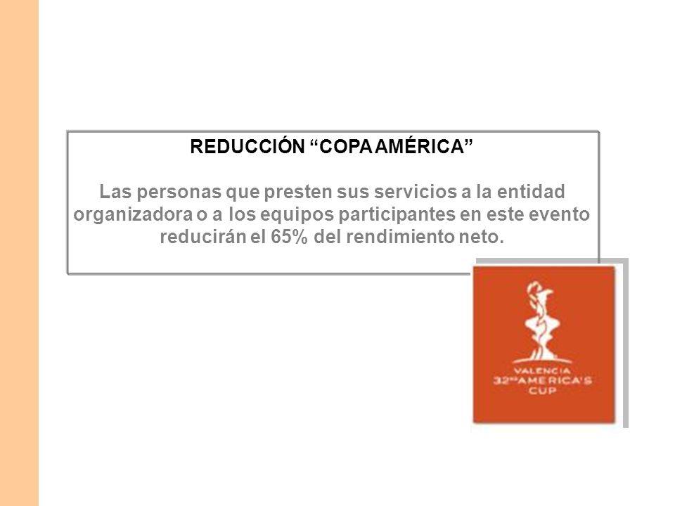 REDUCCIÓN COPA AMÉRICA