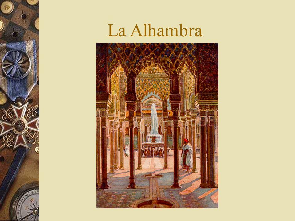 La Alhambra La Alhambra pintada en el siglo XIX, a los quinientos años de la época de los eventos que nos conciernen…
