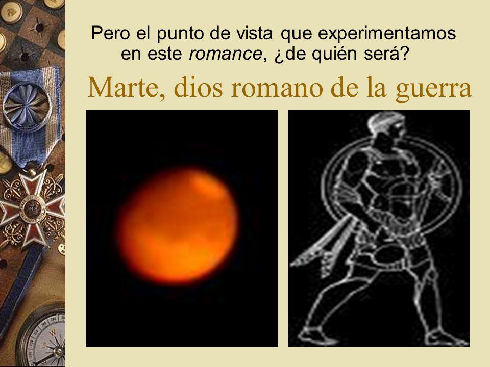 Marte, dios romano de la guerra