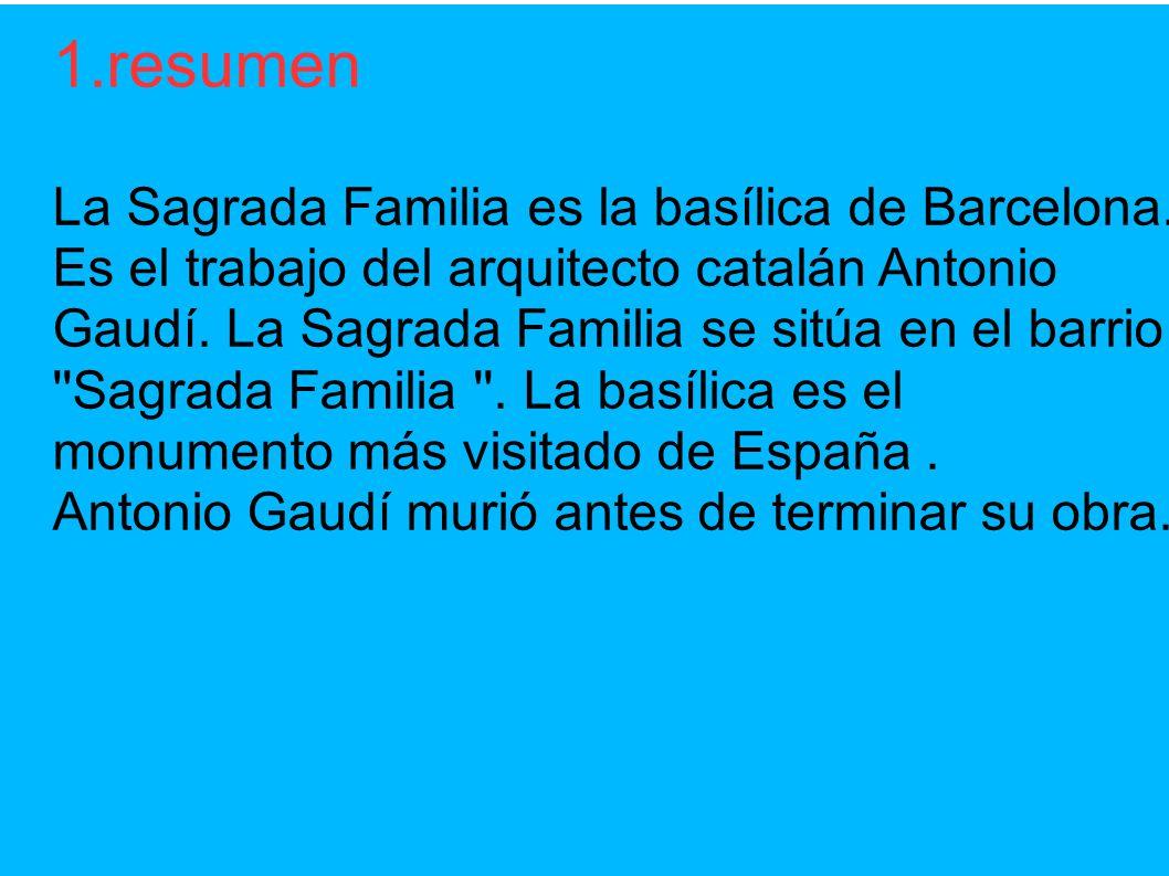 La sagrada familia de barcelona la sagrada familia tanguy - Trabajo arquitecto barcelona ...